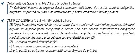 Termen limită pentru notificarea intenției de restructurare